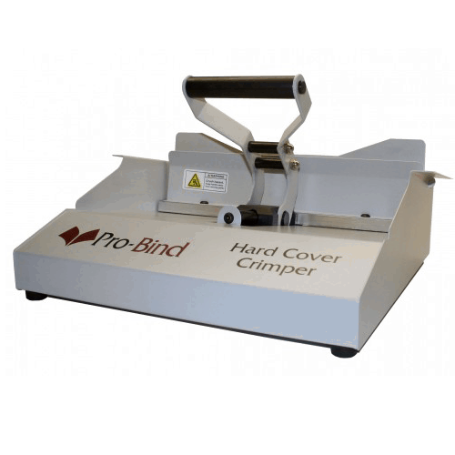 Hard Cover Crimper