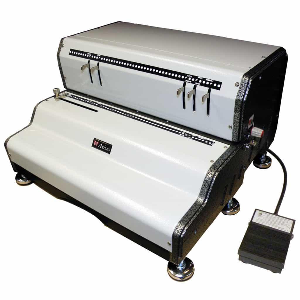 Akiles CoilMac-ECP41 Coil Binding Machine