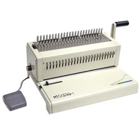 Akiles MegaBind-1E: Electric Punch Plastic Comb Binding Machine - Free  Shipping - Order Here